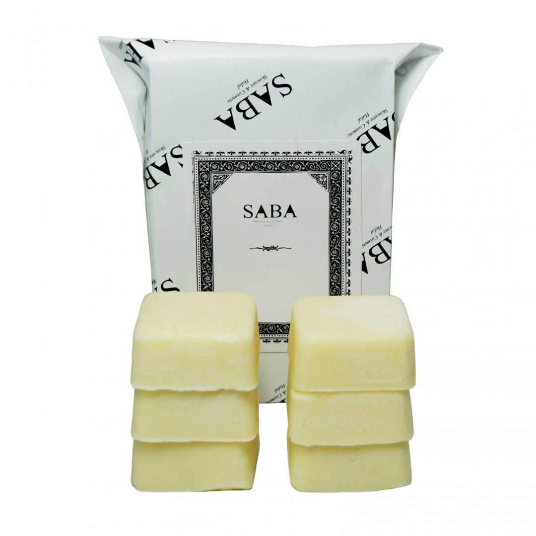 shea butter lotion bars from Saba Skincare