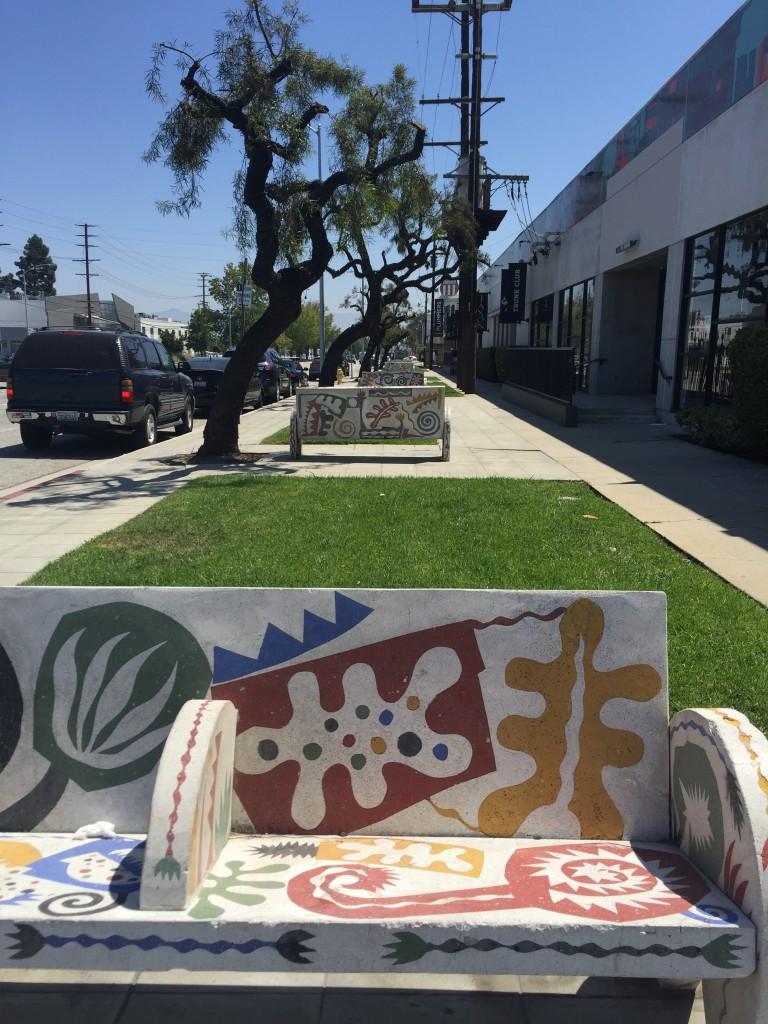 Culver City Bench Art