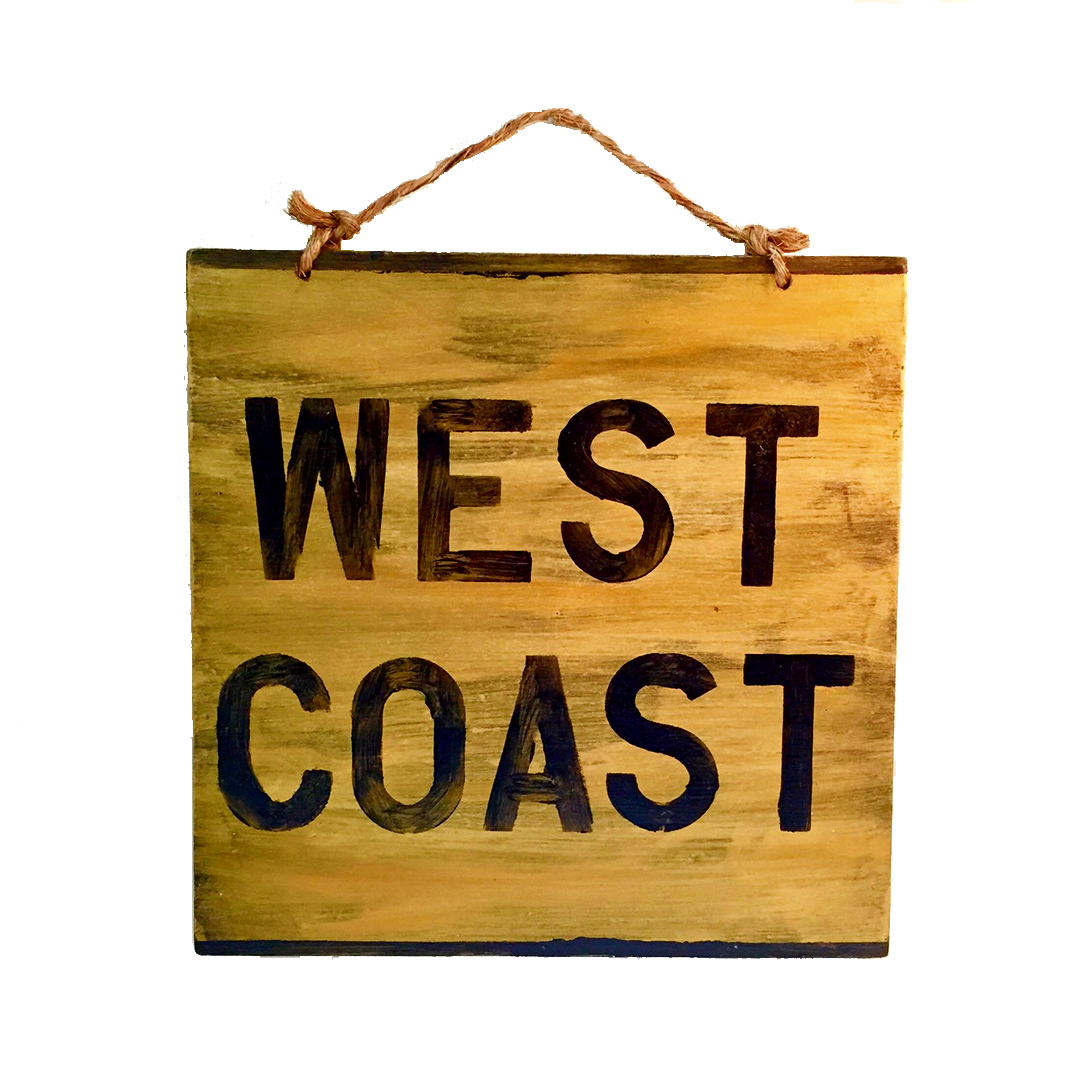 Hollywood & Twine West Coast Sign