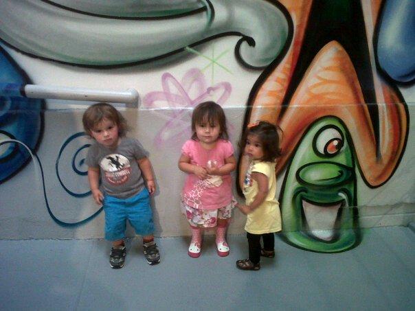 Kids love Street Art