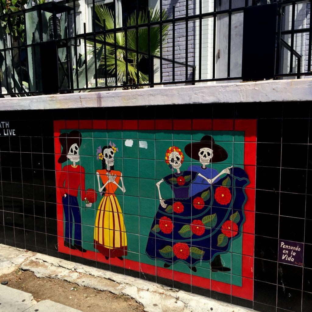 street art in West Adams