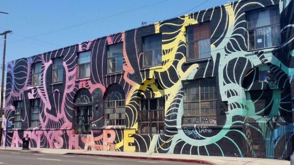 street art in Arts District LA