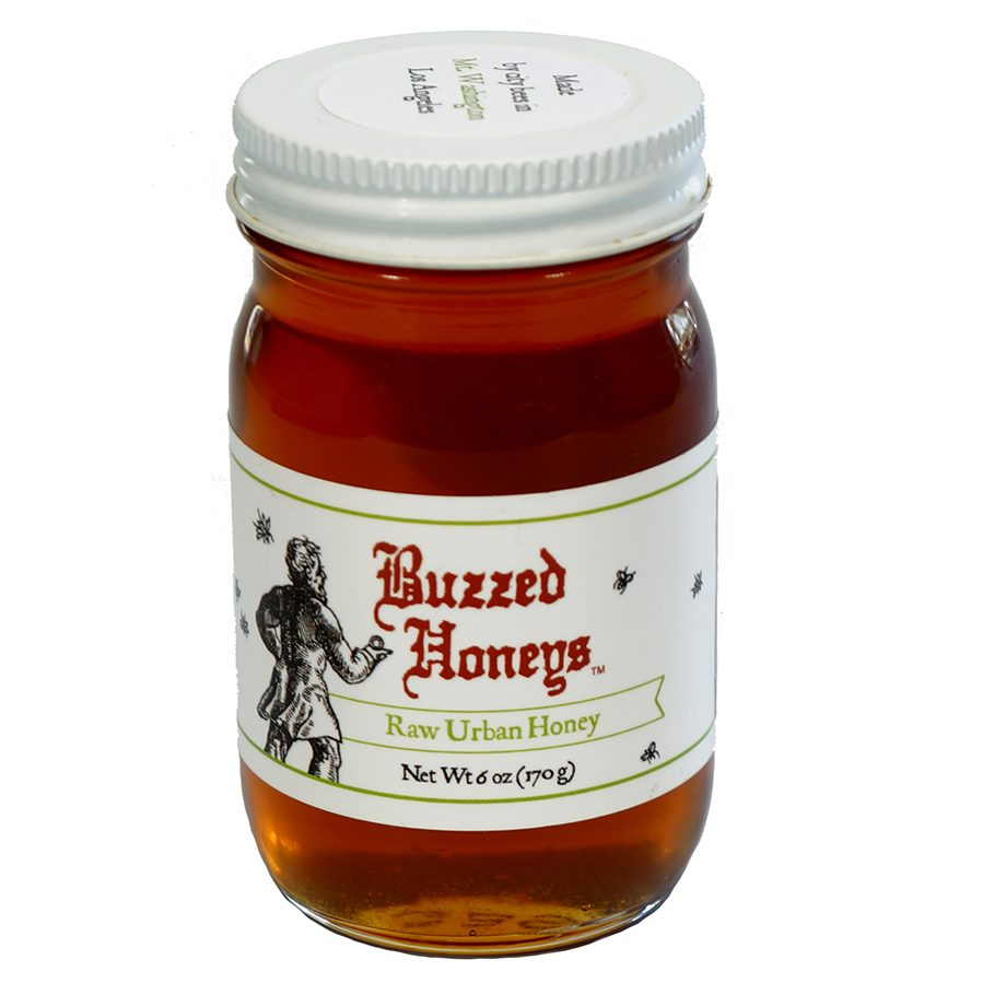 made in Los Angeles honey by Buzzed Honeys