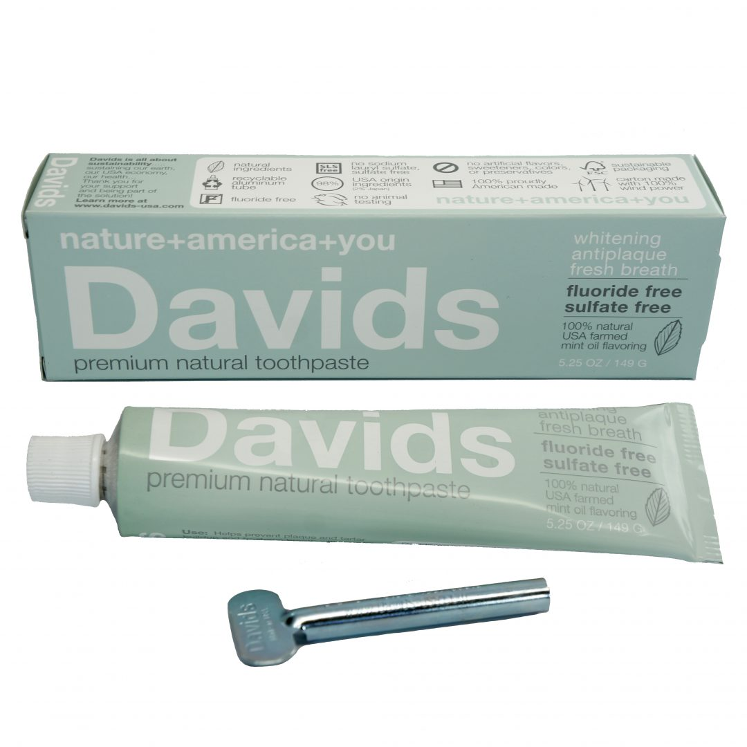 David's Premium Natural mint Toothpaste