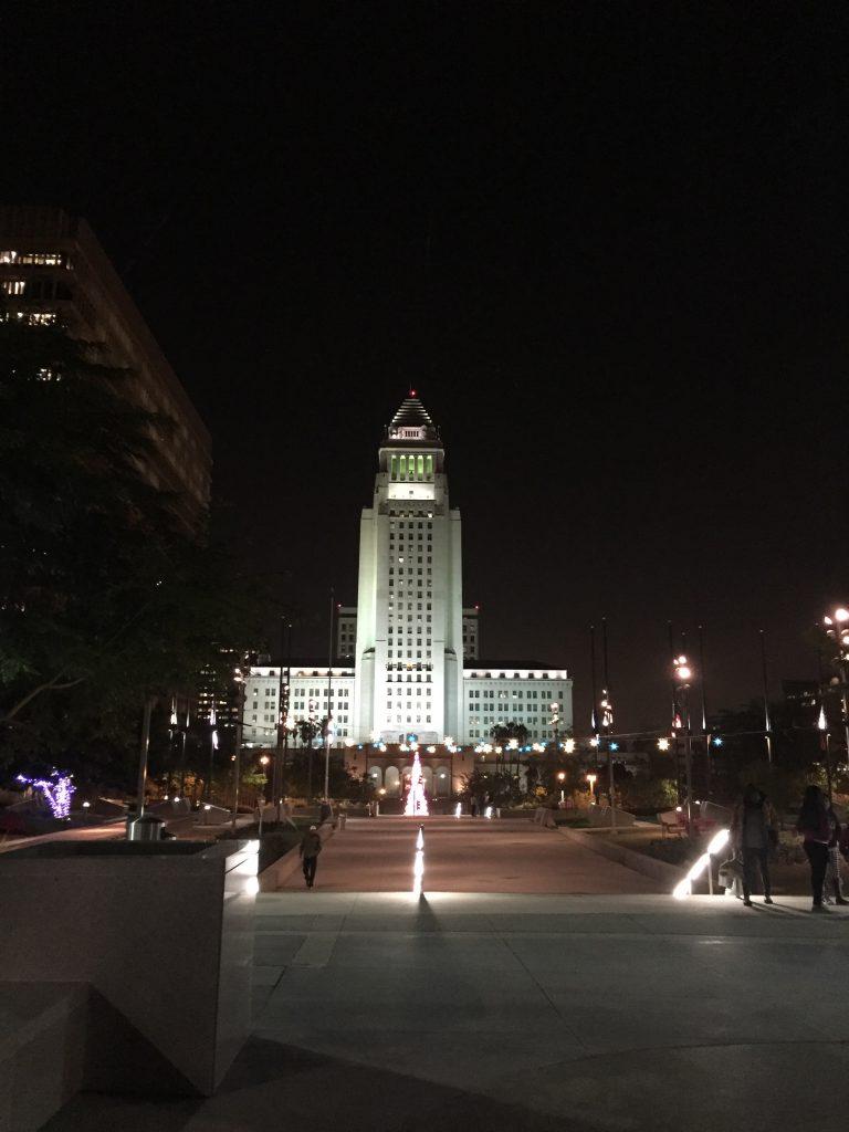 grand park & city hall - near Metro Red Line Civic Center stop
