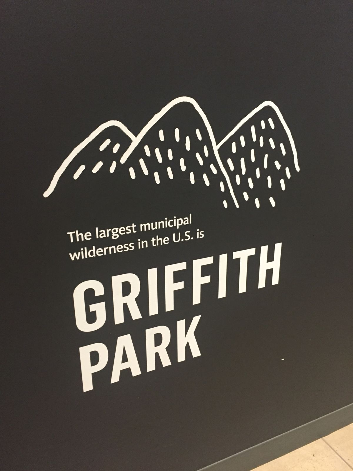 Griffith Park at the Natural History Museum