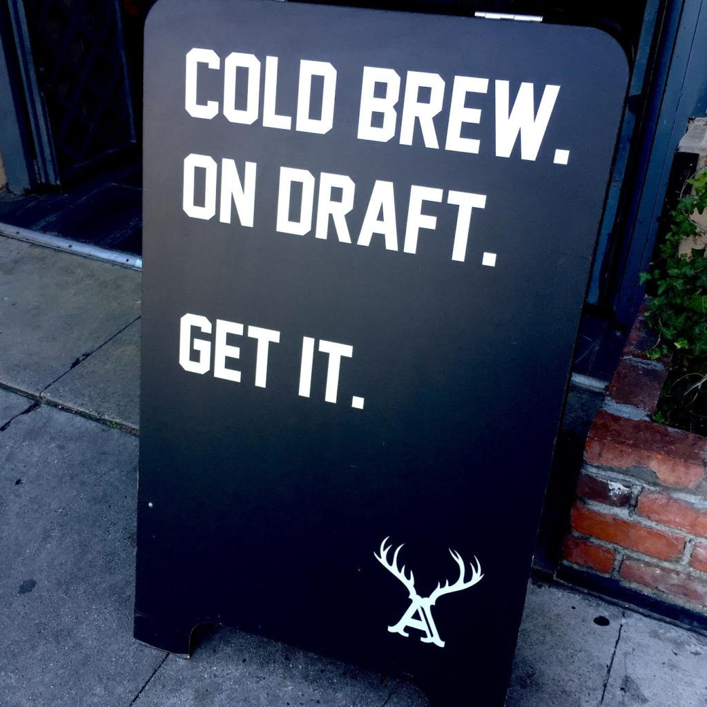 Alfred Coffee Cold Brew on Draft