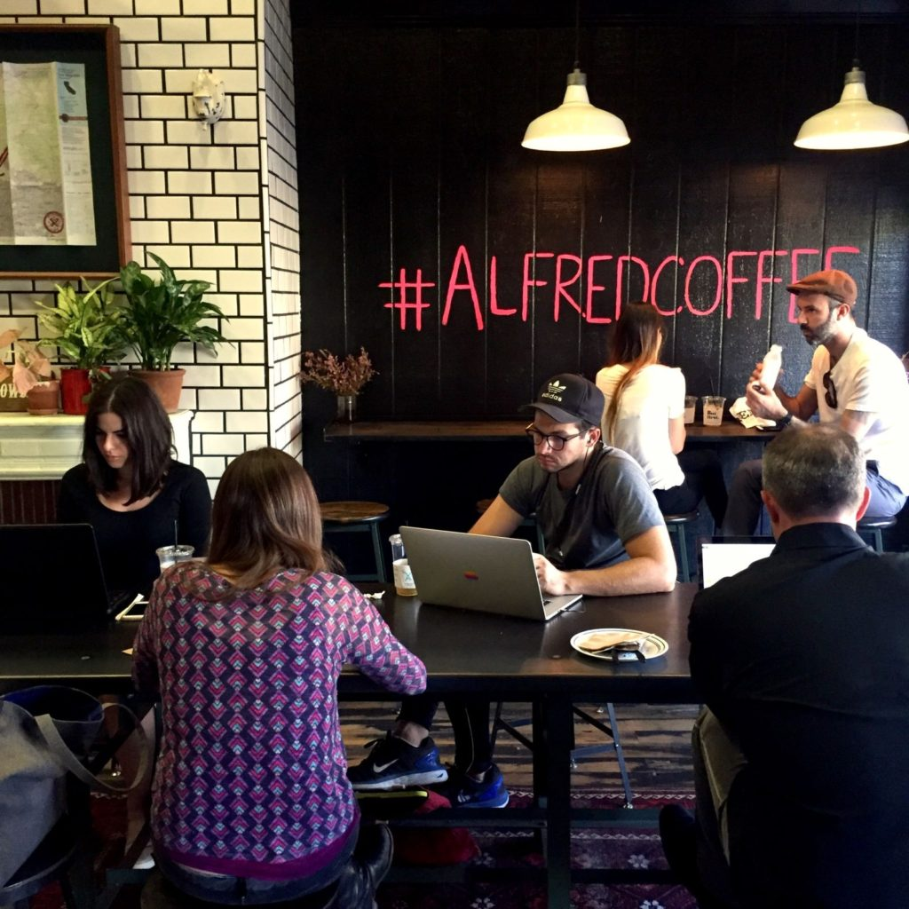 Alfred Coffee living room