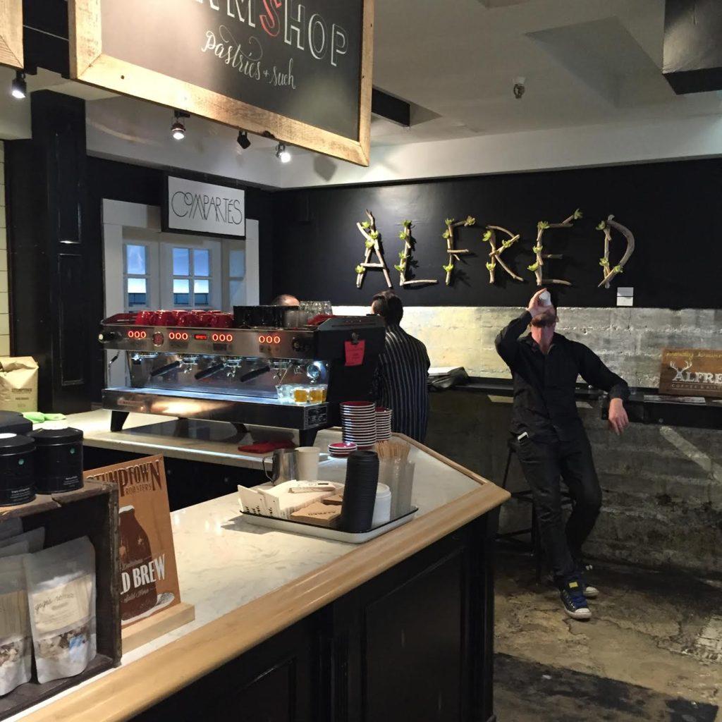 Alfreds Coffee Melrose