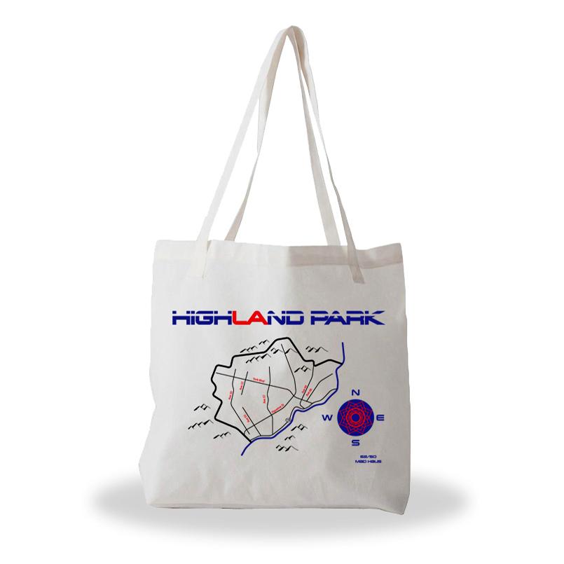 Highland Park tote bag 6250 Maps