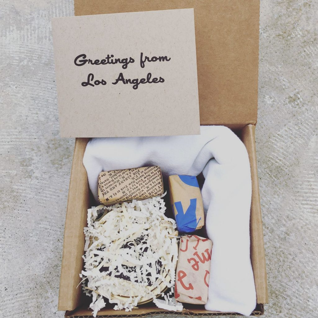 reuse, reuse, reuse gift boxes