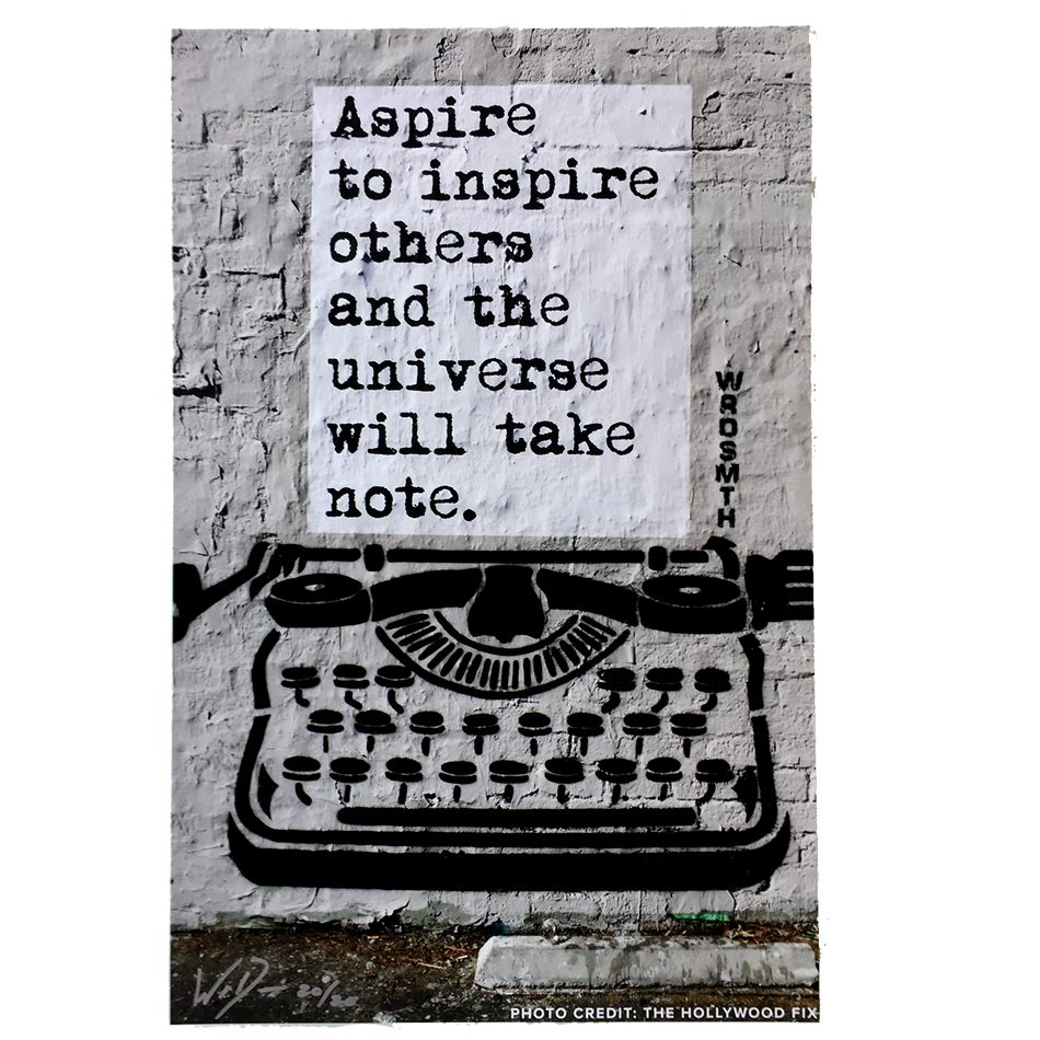 Aspire to Inspire print - Wrdsmith