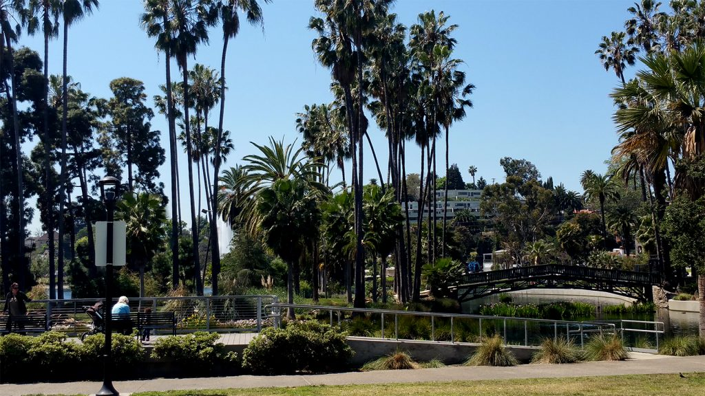 Echo Park Lake Northside