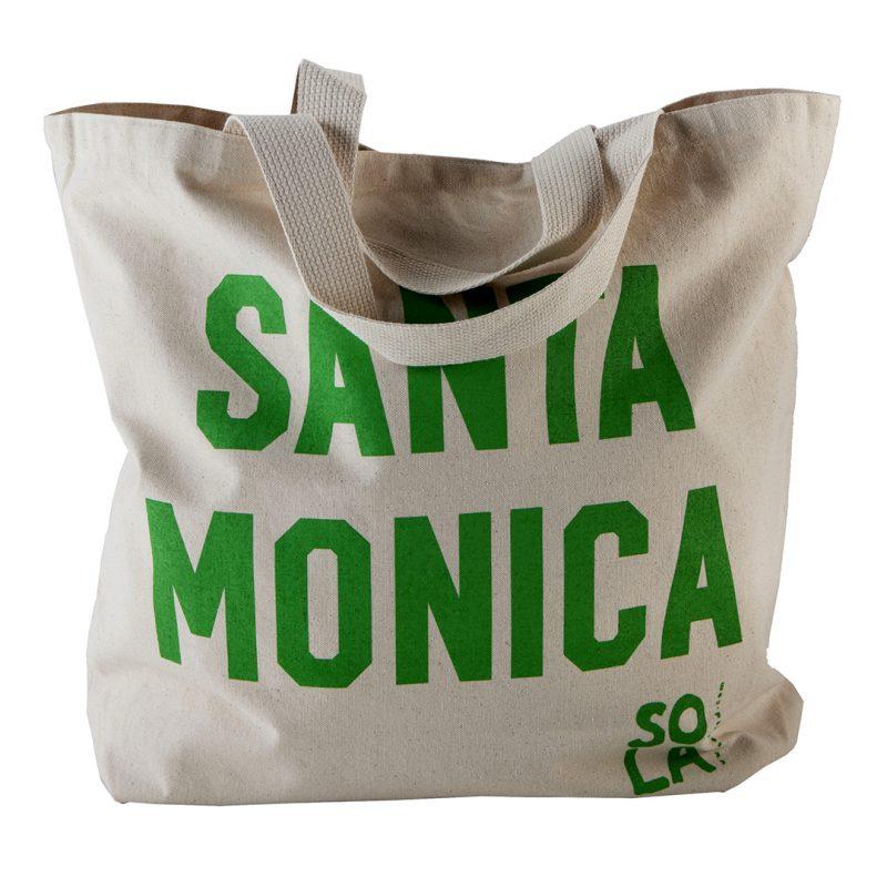 santa monica beach totes