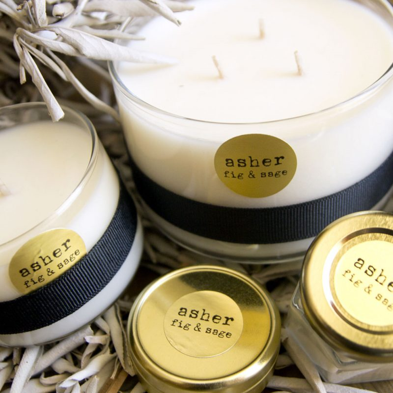 wearable candle asher