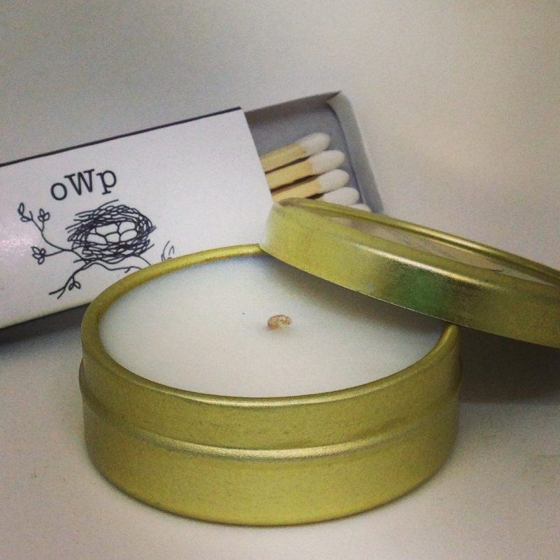 wearable candle by Objects with purpose