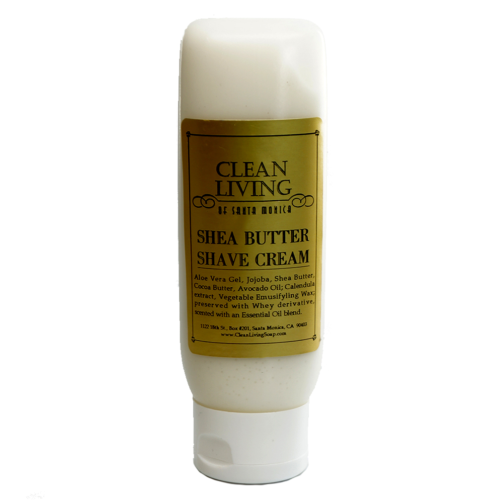 shea butter shave cream