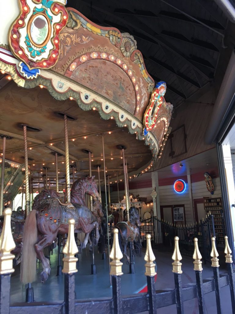 Merry Go Round at Griffith Park