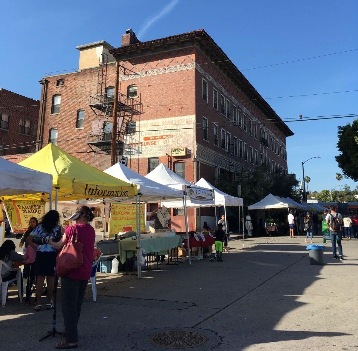 echo park farmers market