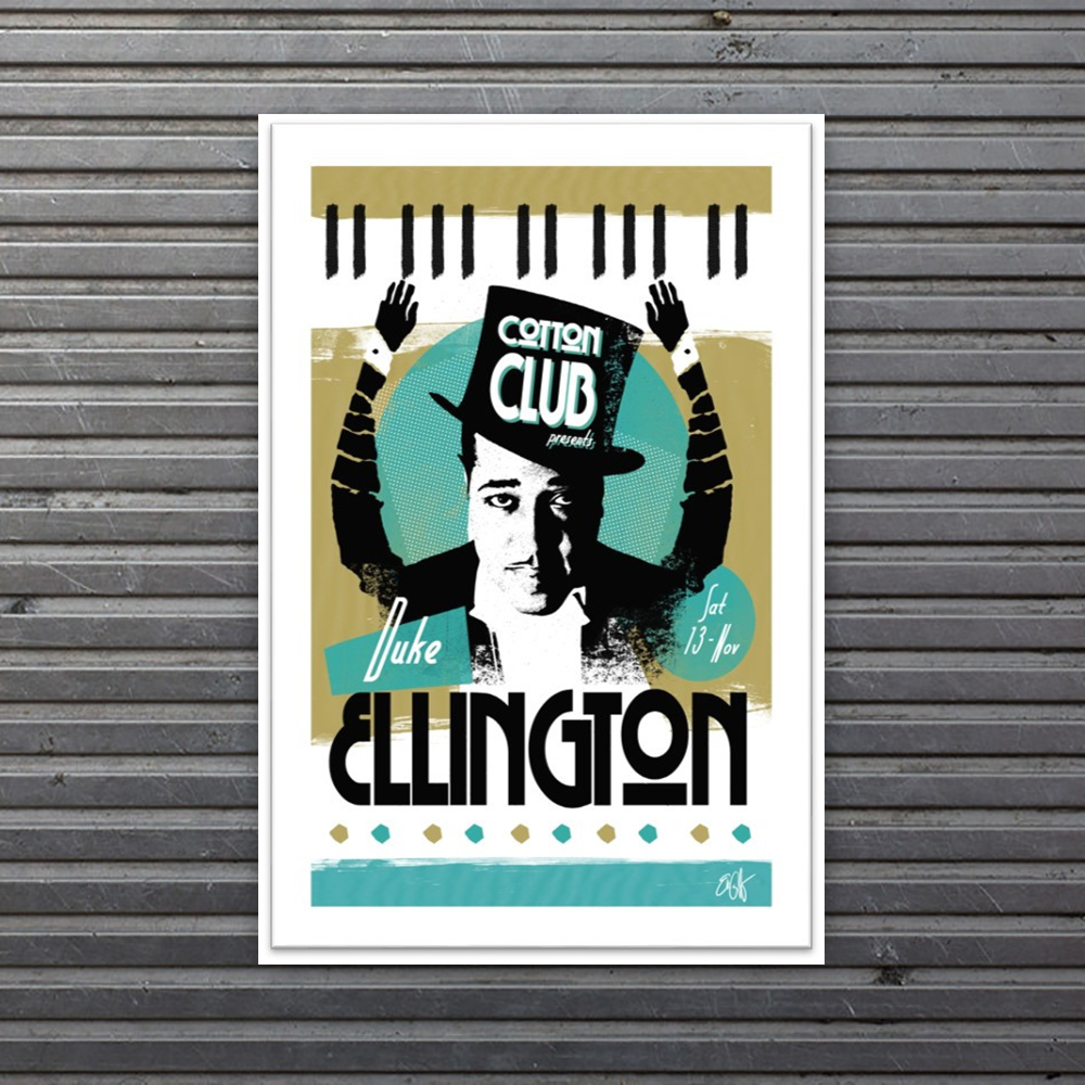 limited edition Duke Ellington print