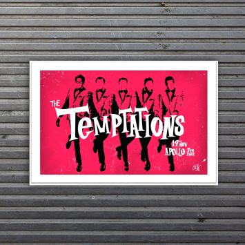 limited edition The Temptations print