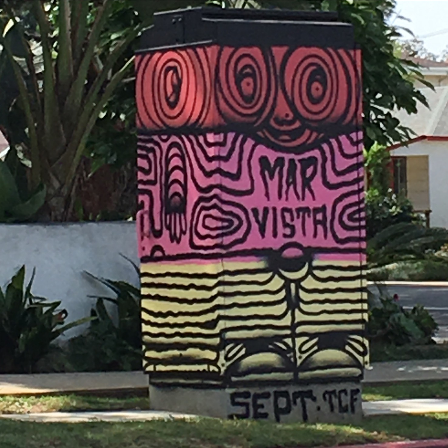 Street art in Mar Vista