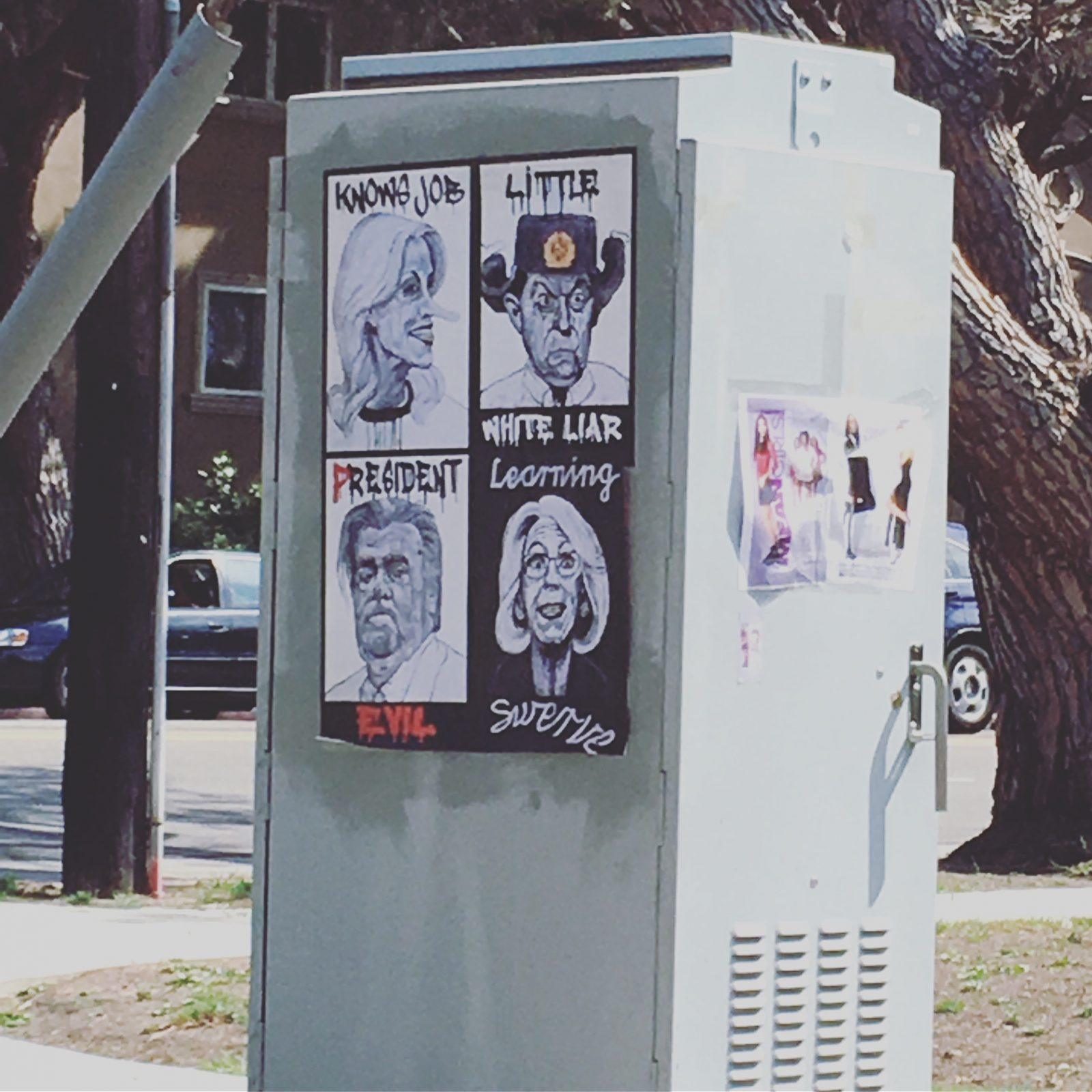 Street art in Mar Vista Los Angeles