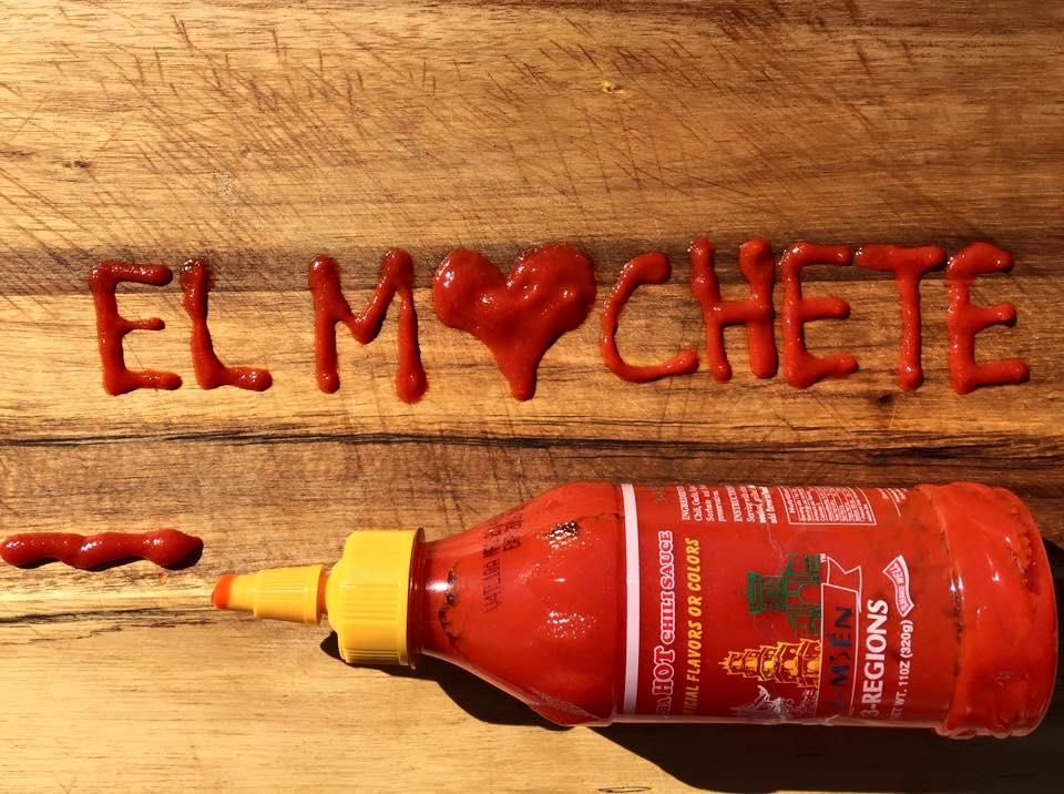 El Machete Chilli Sauce
