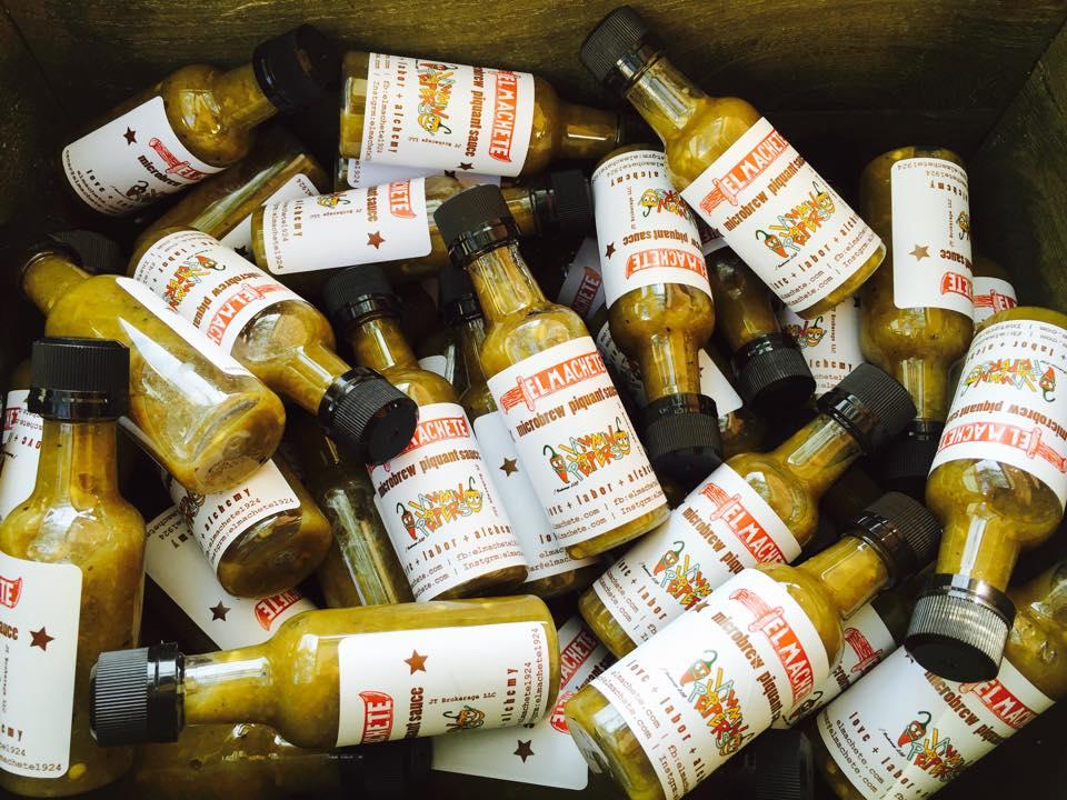 El Machete handkrafted sauces