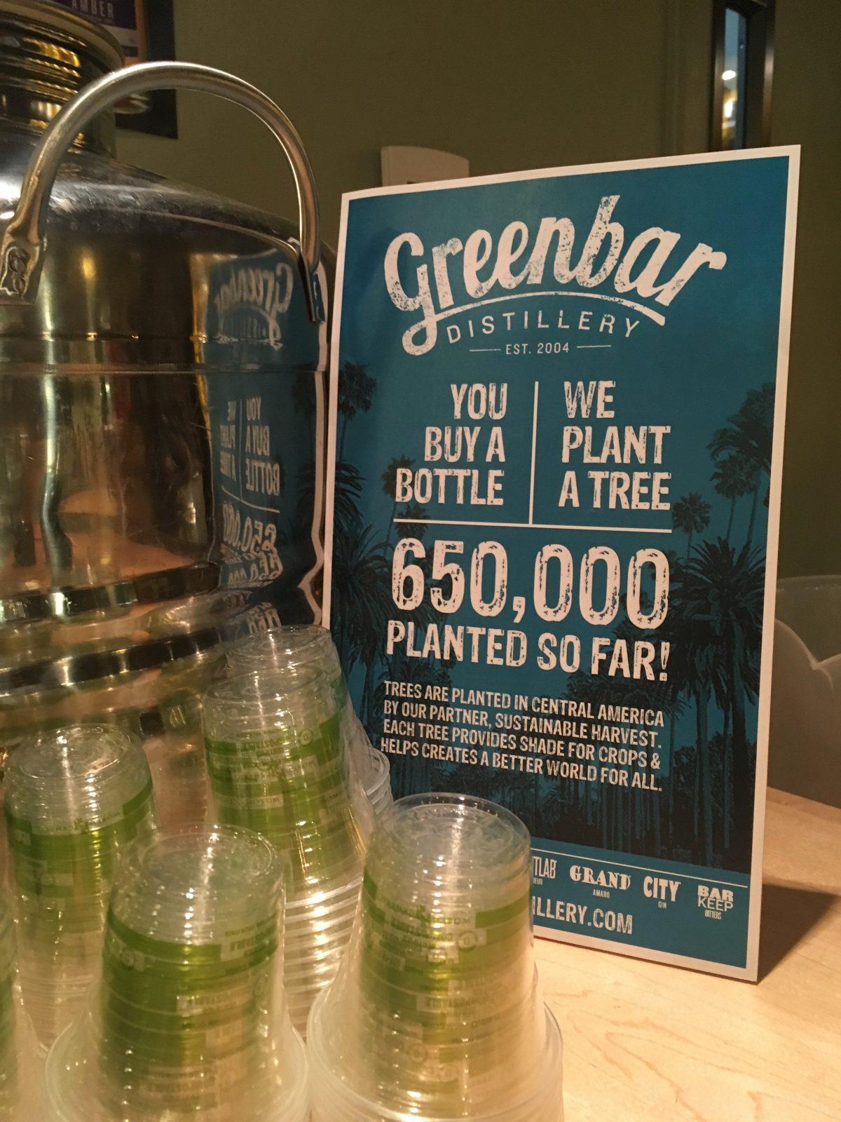about Green Bar Distillery